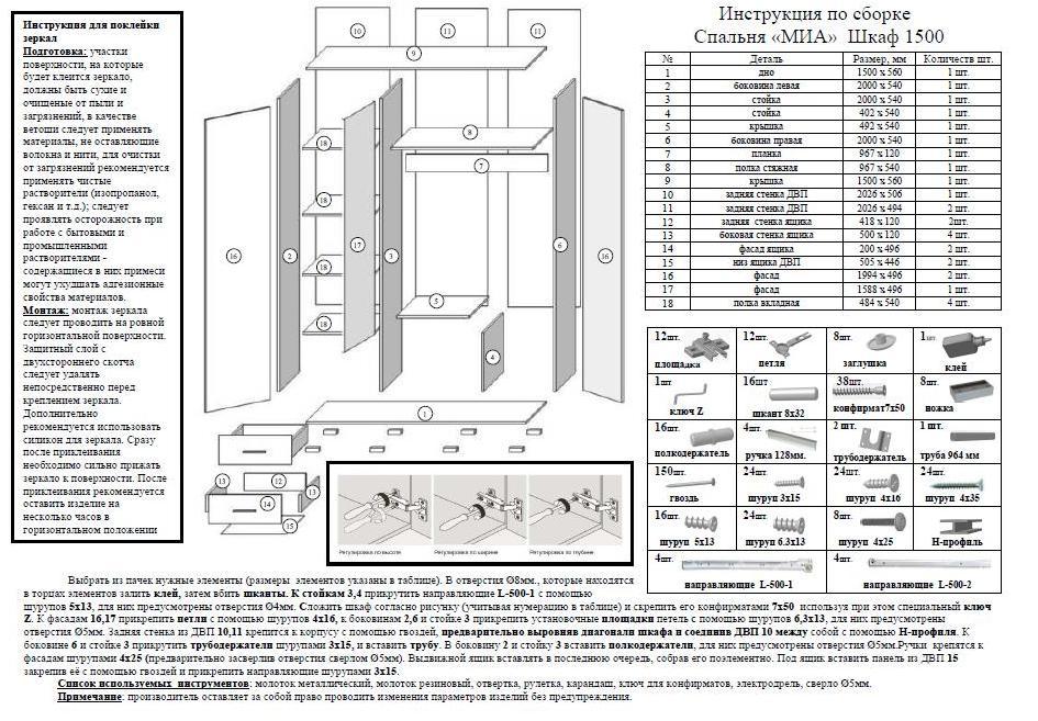 Шкаф 3х-дверный миа. цена - 3788 грн. купить в киеве на zaku.