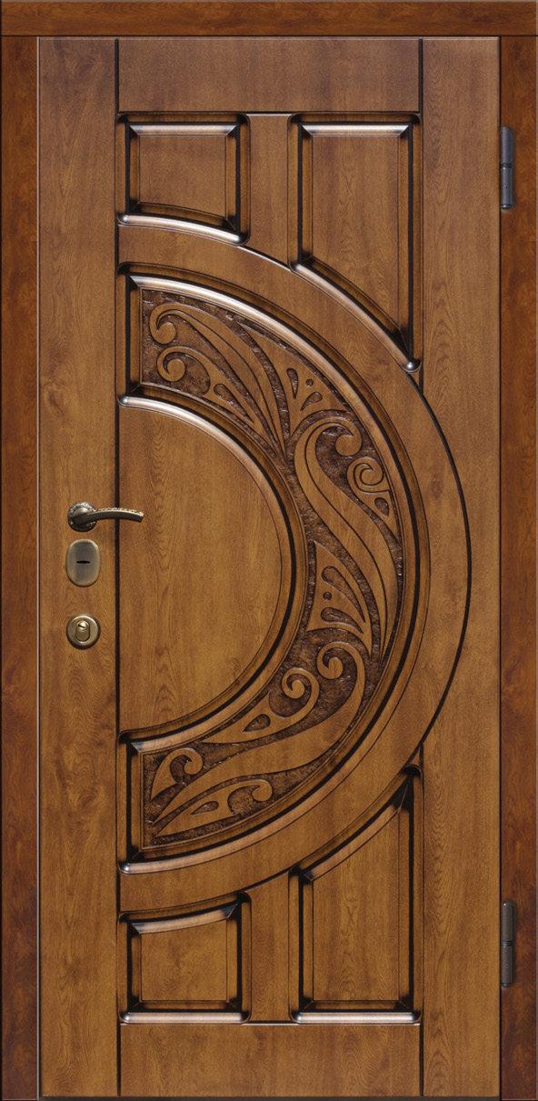 нестандартные входные двухстворчатые двери